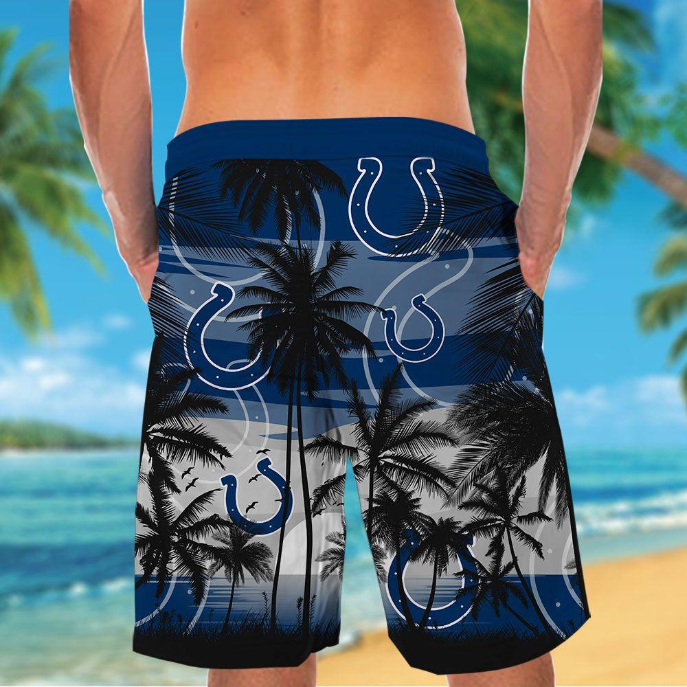 NFL Indianapolis Colts Tropical Hawaiian Shirt