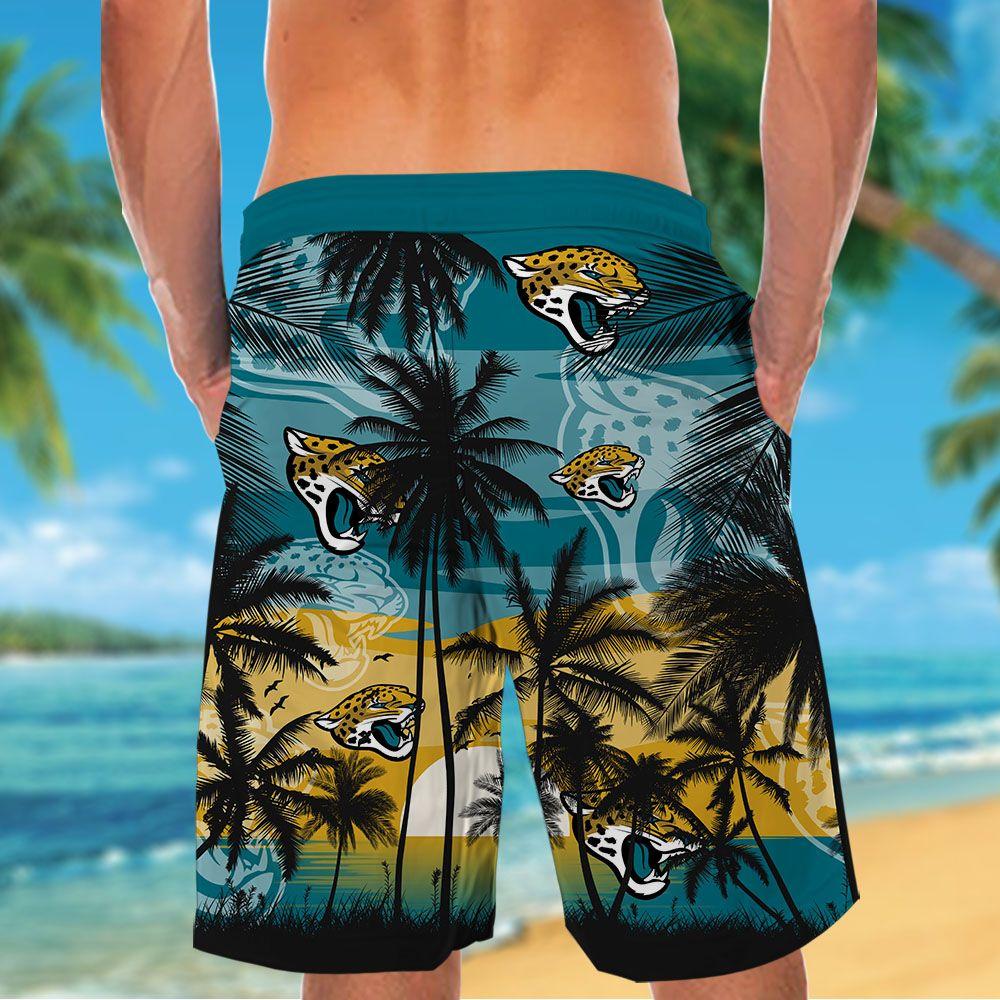 NFL Jacksonville Jaguars Tropical Hawaiian Shirt