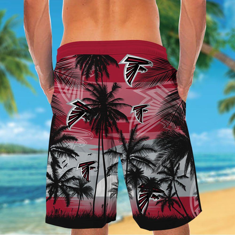 NFL Atlanta Falcons Tropical Hawaiian Shirt