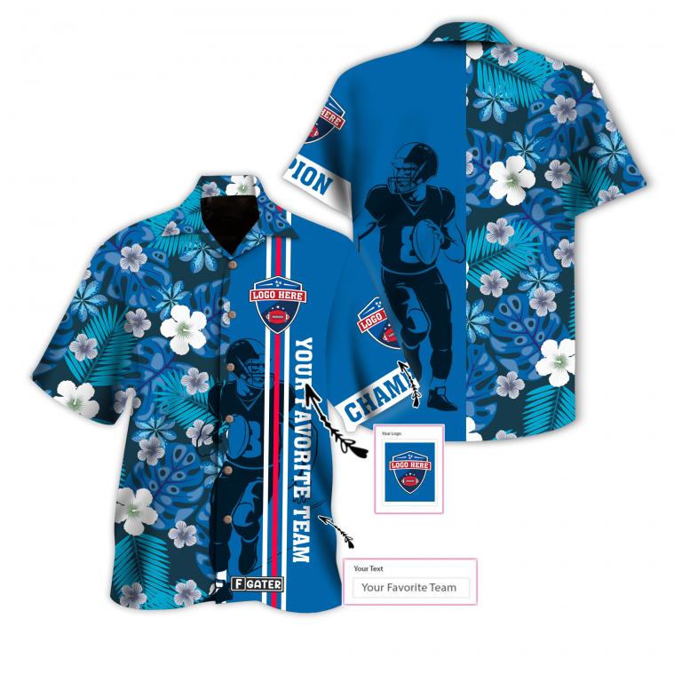 NFL Super Bowl American Football Custom Hawaiian Shirt