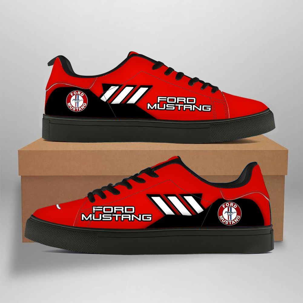 Ford Mustang red version Stan Smith Shoes Sneaker