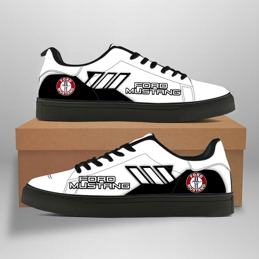 Ford Mustang black and white Stan Smith Shoes Sneaker