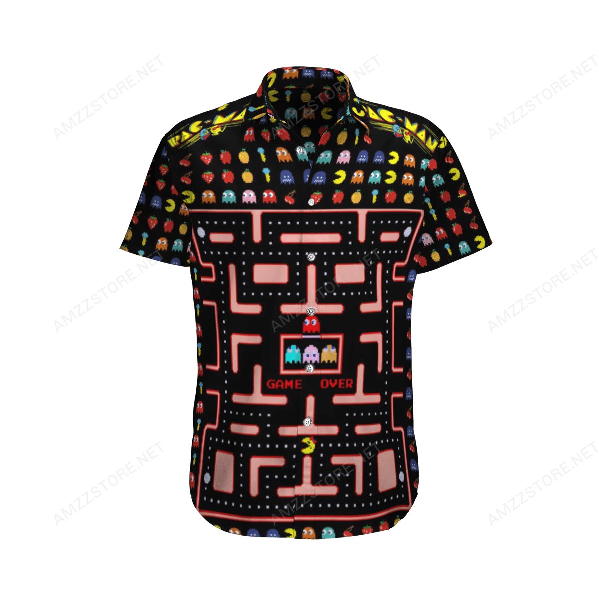 Pac-man Game Over Hawaiian Shirt