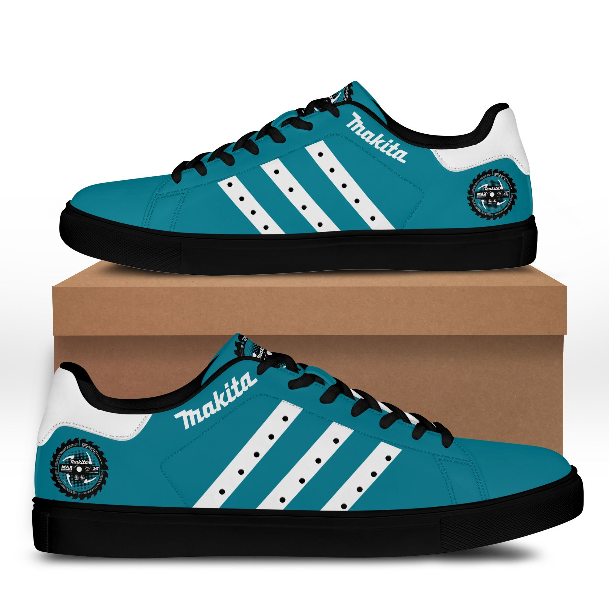 Makita turquoise version Stan Smith Shoes Sneaker