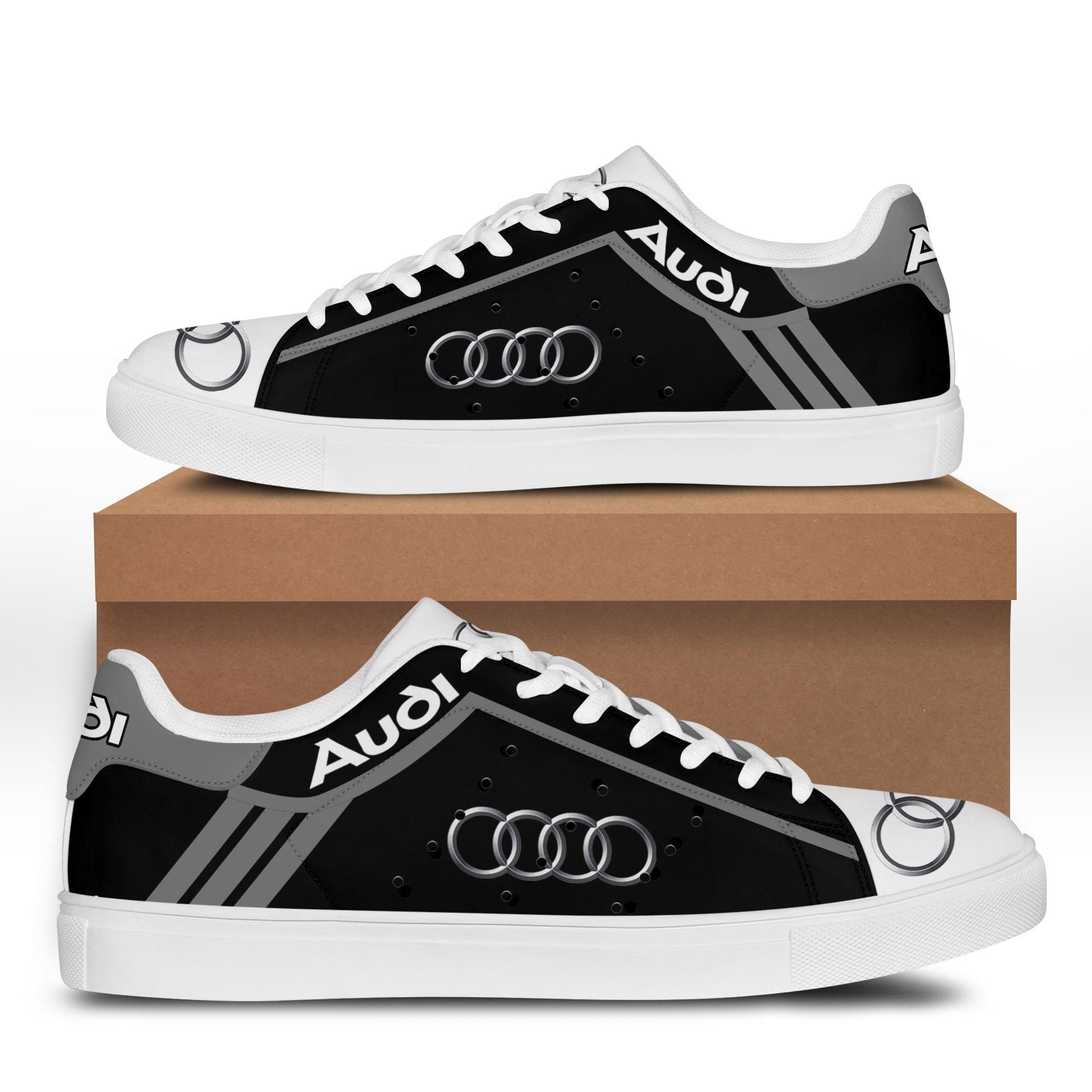 Audi auto grey black Stan Smith Sneaker