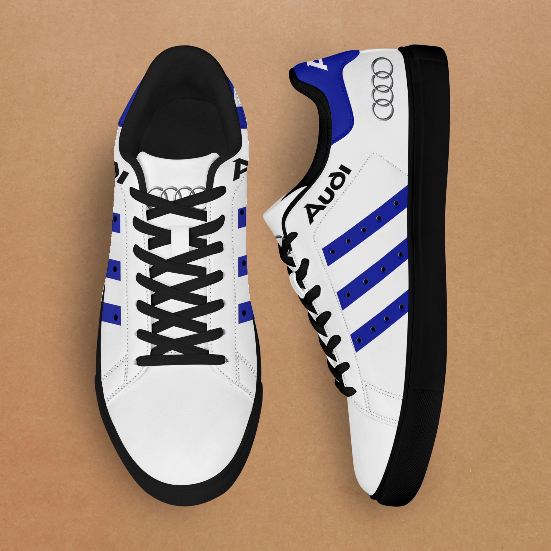 Audi classic Blue Limited Stan Smith Shoes