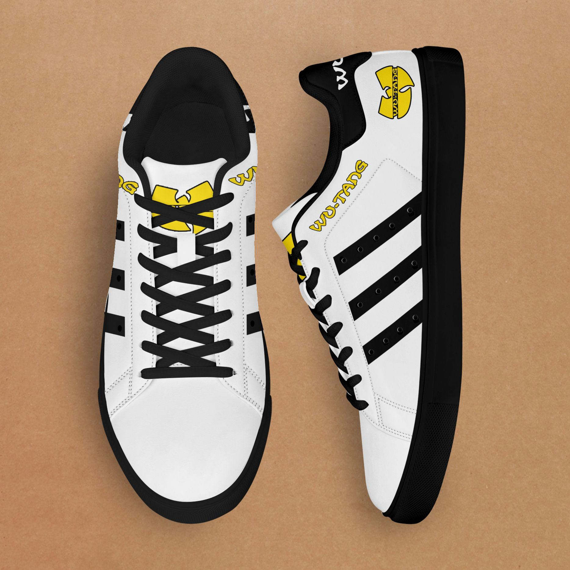 Wu-Tang black line white Stan Smith Shoes