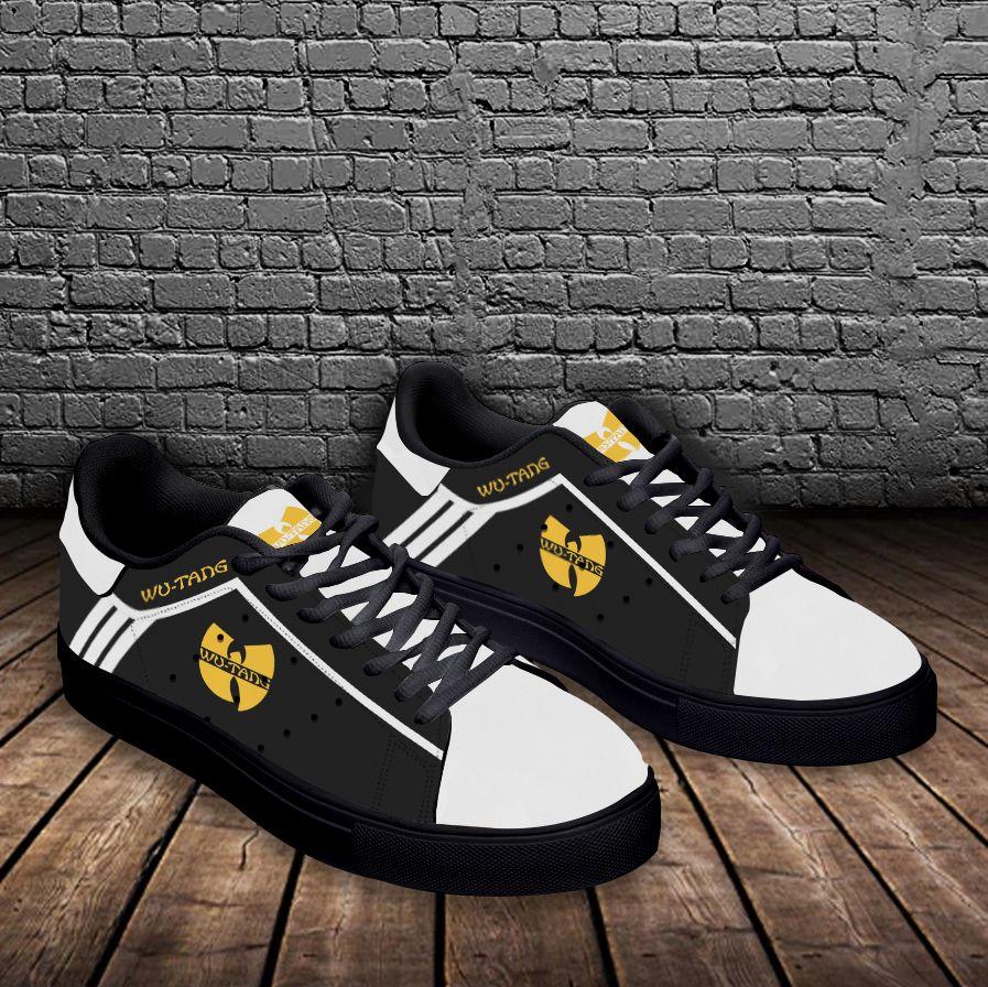 Wu-Tang white stripe line Stan Smith Shoes