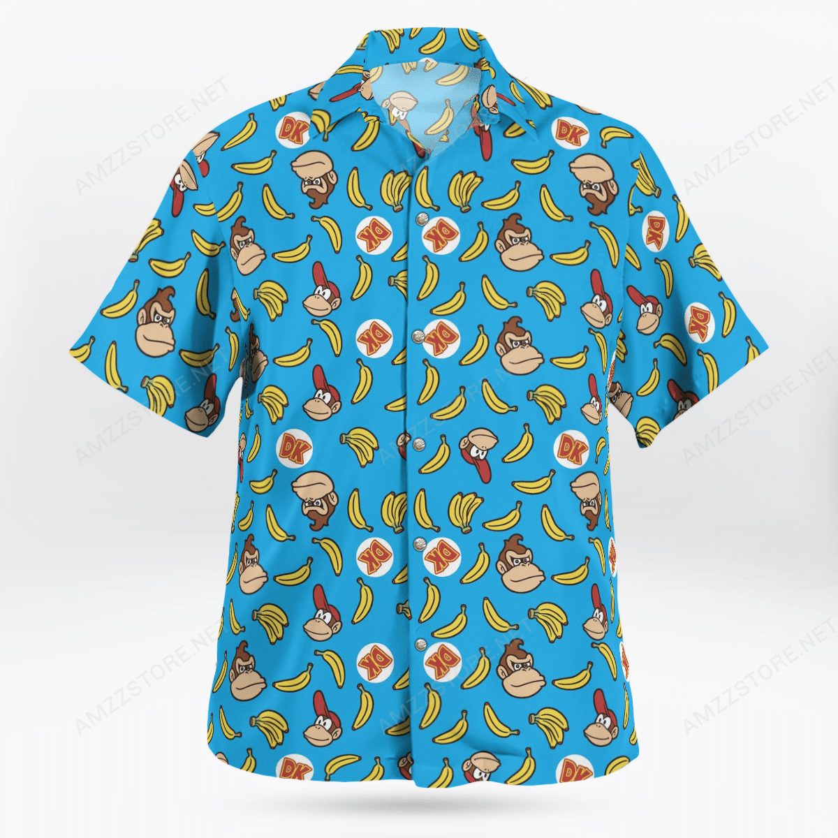 Donkey Kong banana Hawaiian Shirt
