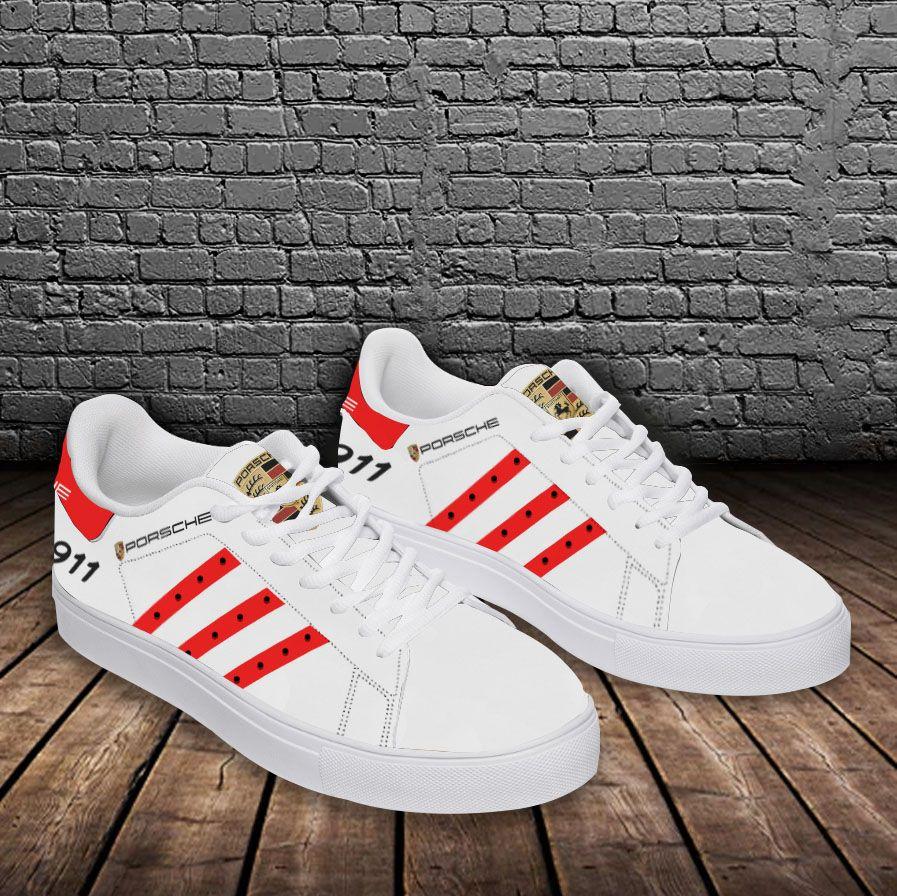 PORSCHE 911 red line Stan Smith Shoes