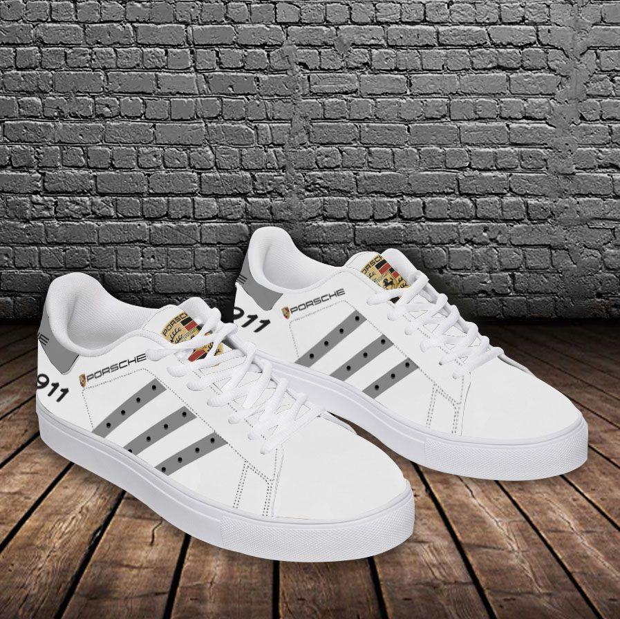 PORSCHE 911 grey line white Stan Smith Shoes