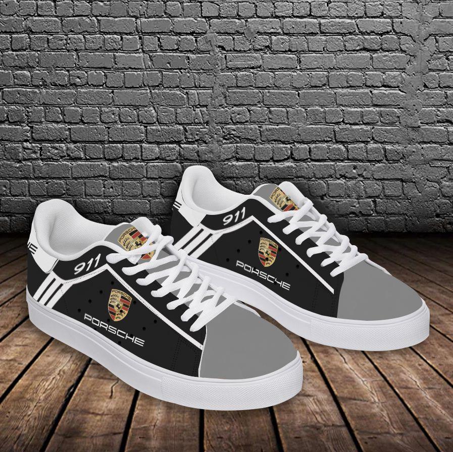 Porsche 911 black and grey Stan Smith Shoes