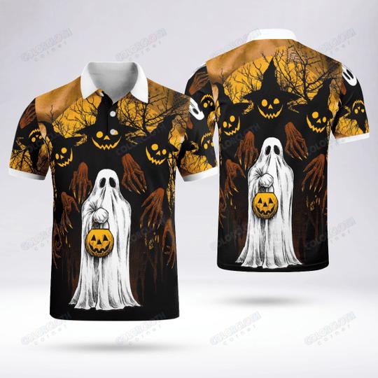 Funny Ghost And Pumpkin Happy Halloween Hoodie sweatshirt