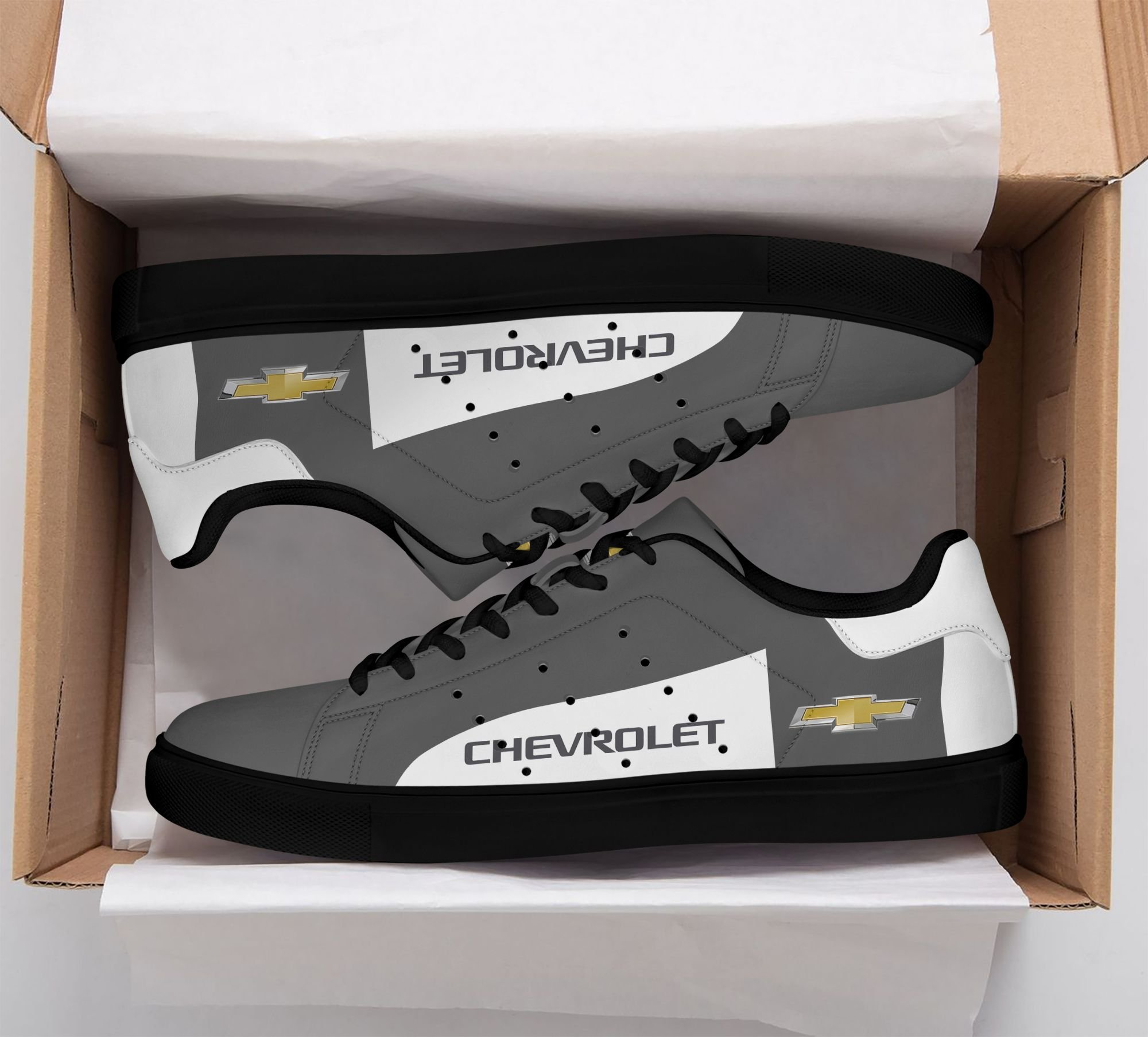 Chevrolet Stan Smith Shoes Grey version