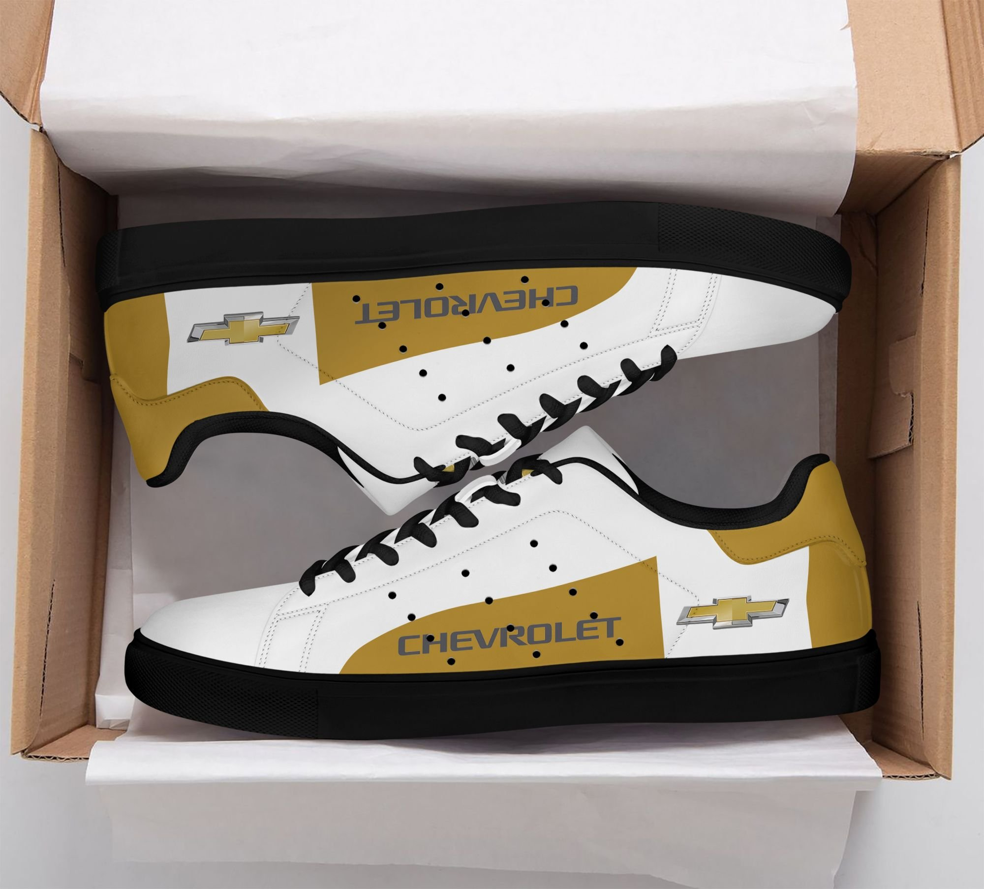 Chevrolet Stan Smith Shoes Yellow white version