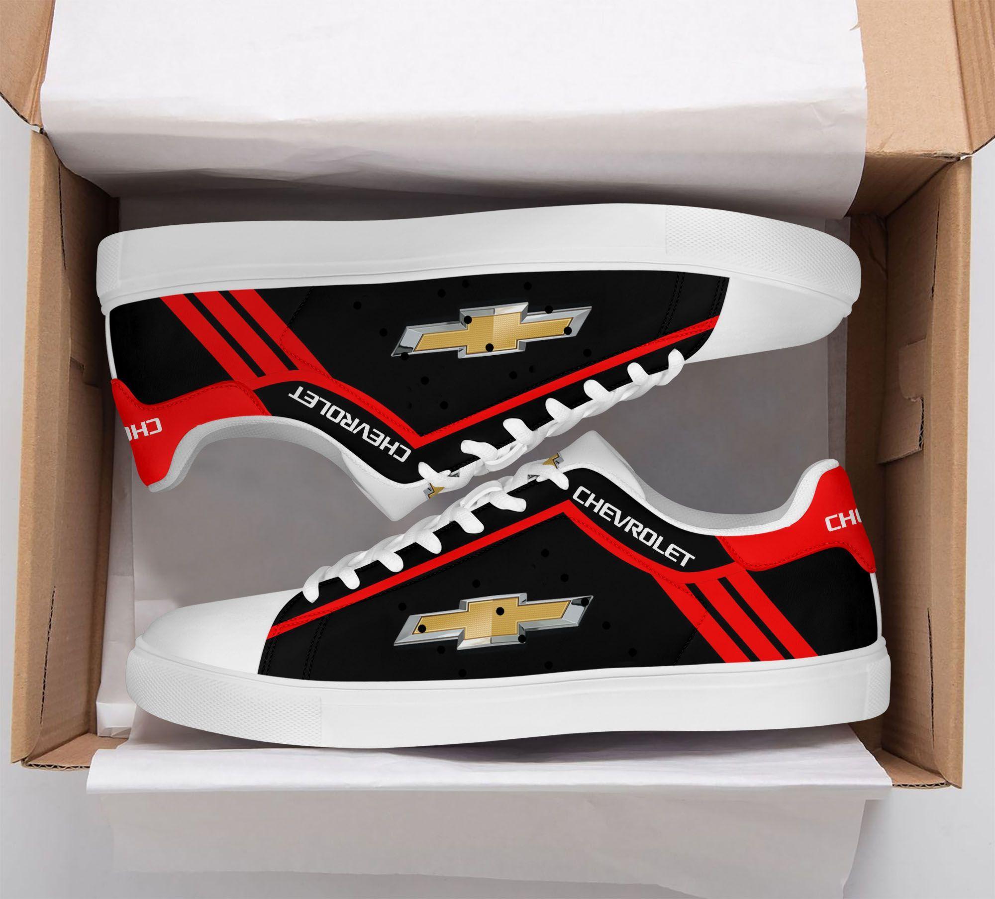 Chevrolet Silverado black and red version Stan Smith Shoes