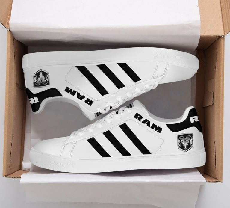 Ram Truck White Stan Smith Shoes
