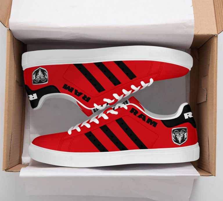 Ram Truck Red Stan Smith Shoes