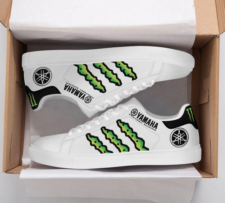 Yamaha Racing Monster Energy White Stan Smith Shoes