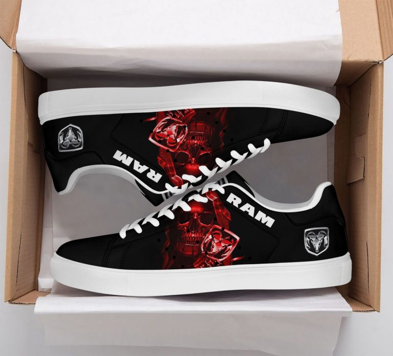 Ram Truck Red Skull Stan Smith Shoes