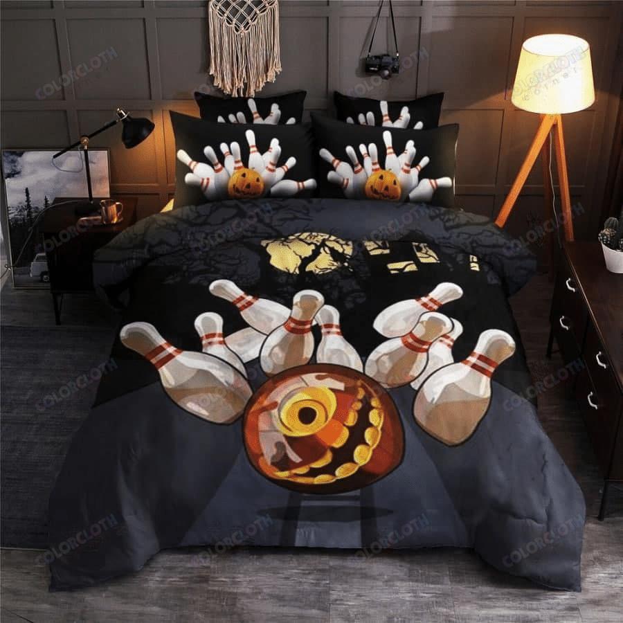 Bowling Halloween Bedding Set