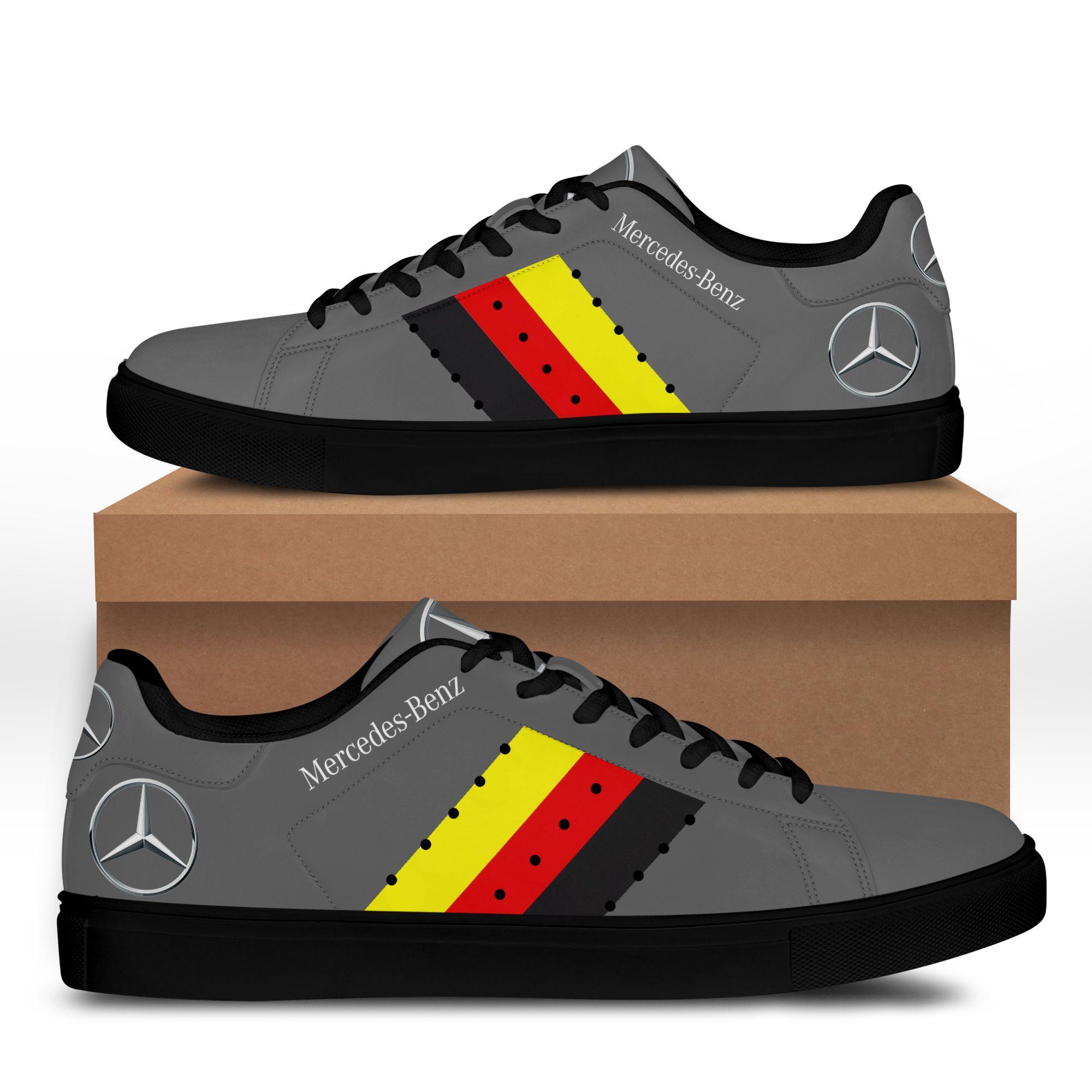 Mercedes Benz Grey Stan Smith Shoes