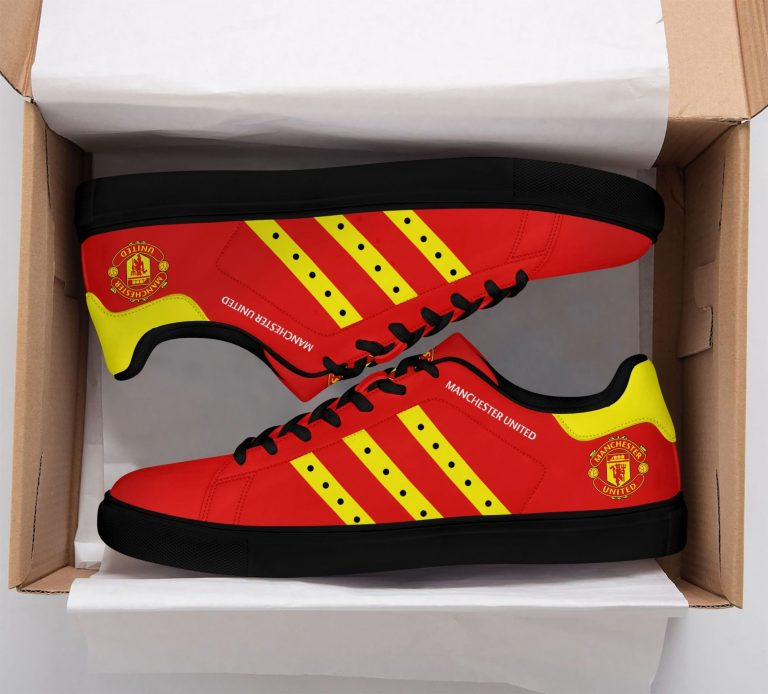 Manchester United Red Stan Smith Shoes