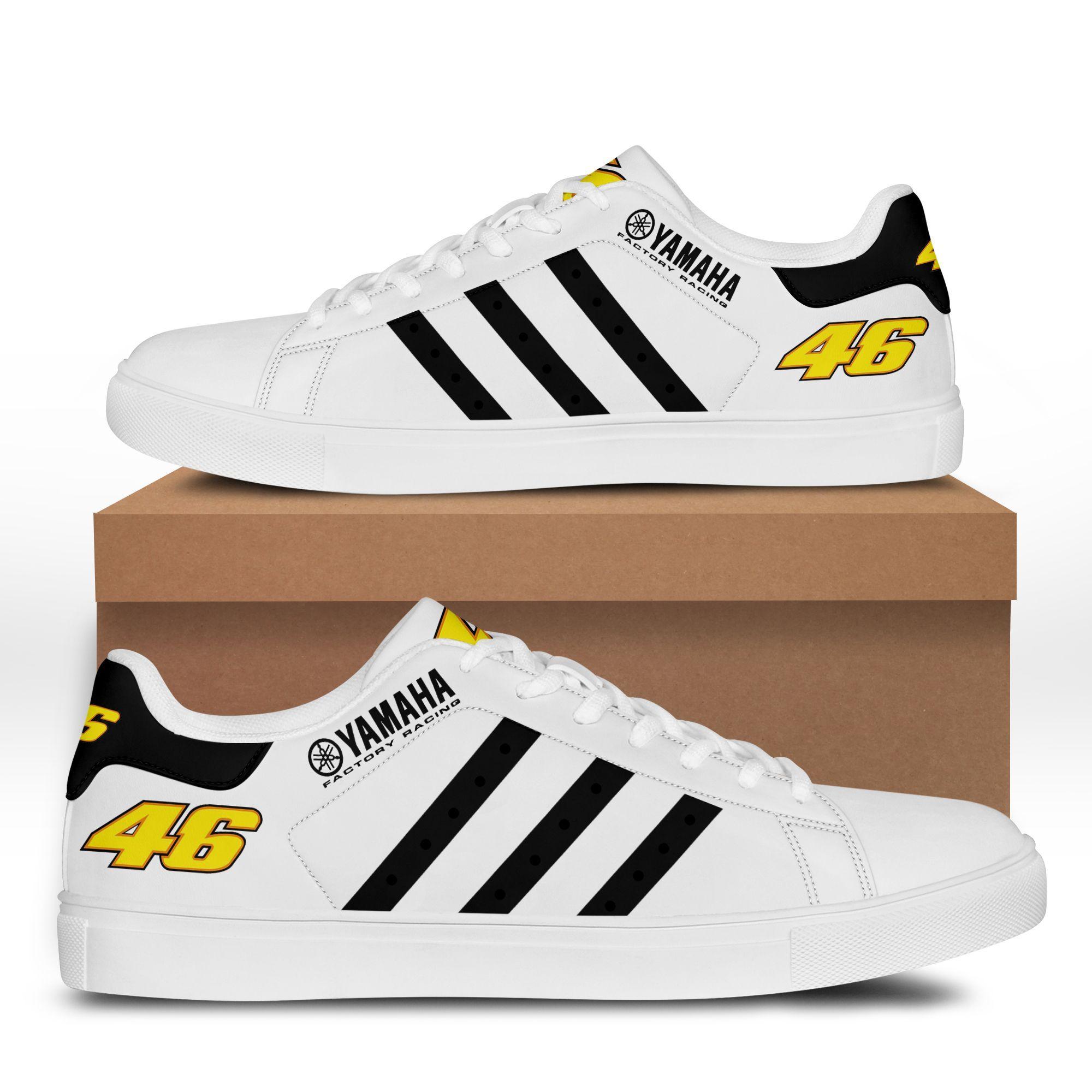 Yamaha Racing black Premium Stan Smith Shoes