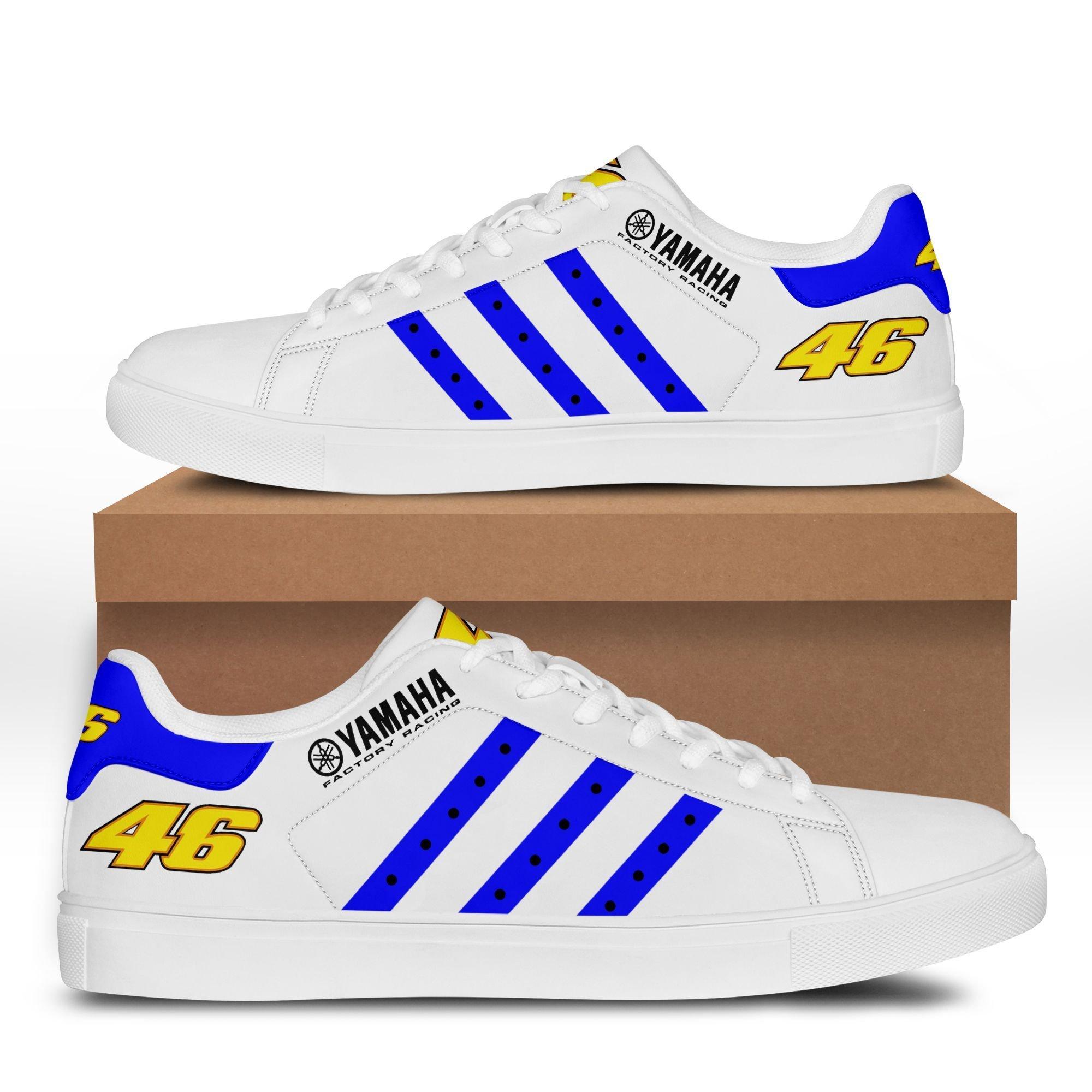 Yamaha Racing blue version Stan Smith Shoes