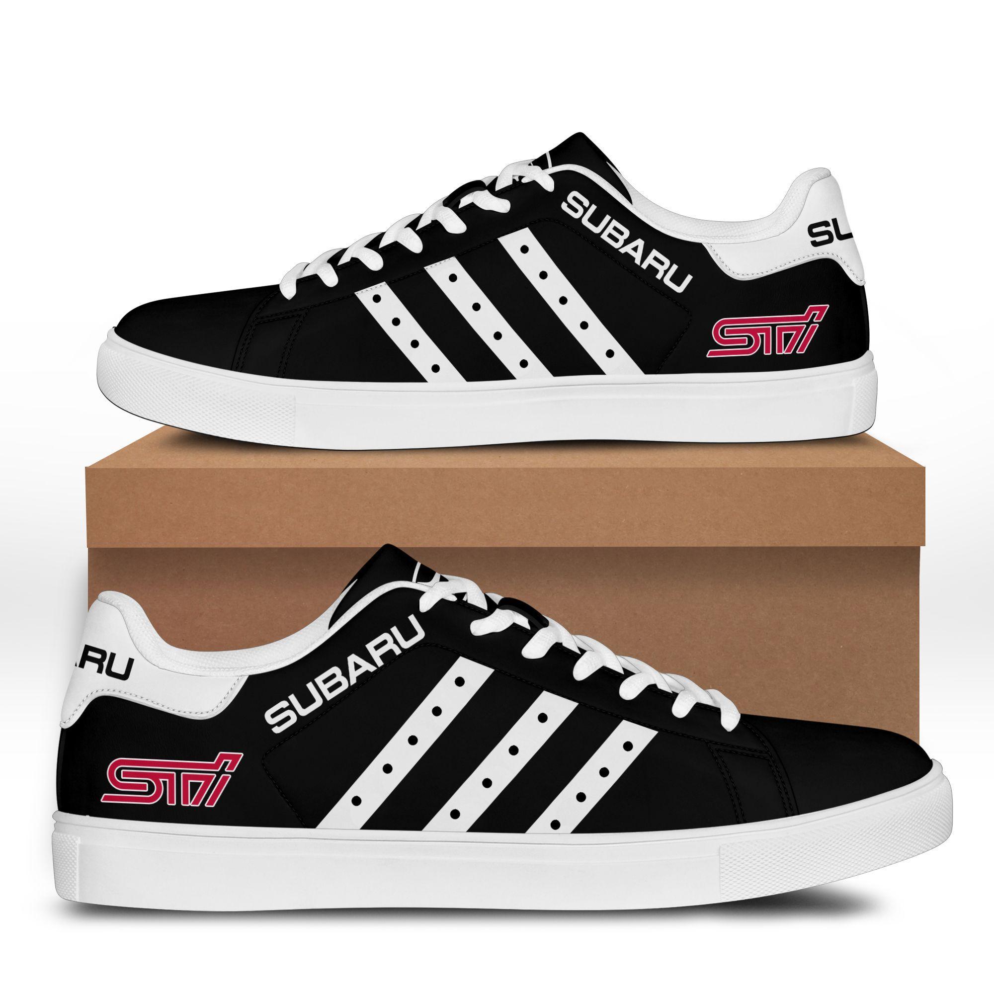 SUBARU STI Black Stan Smith Shoes