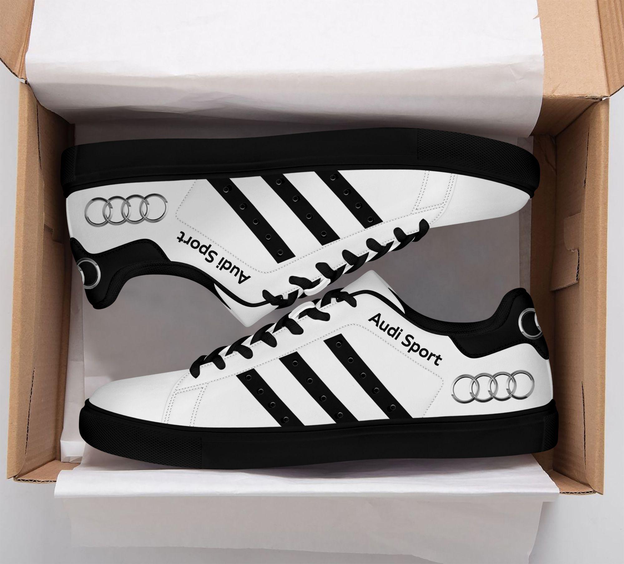 Audi Sport Premium black Stan Smith Shoes
