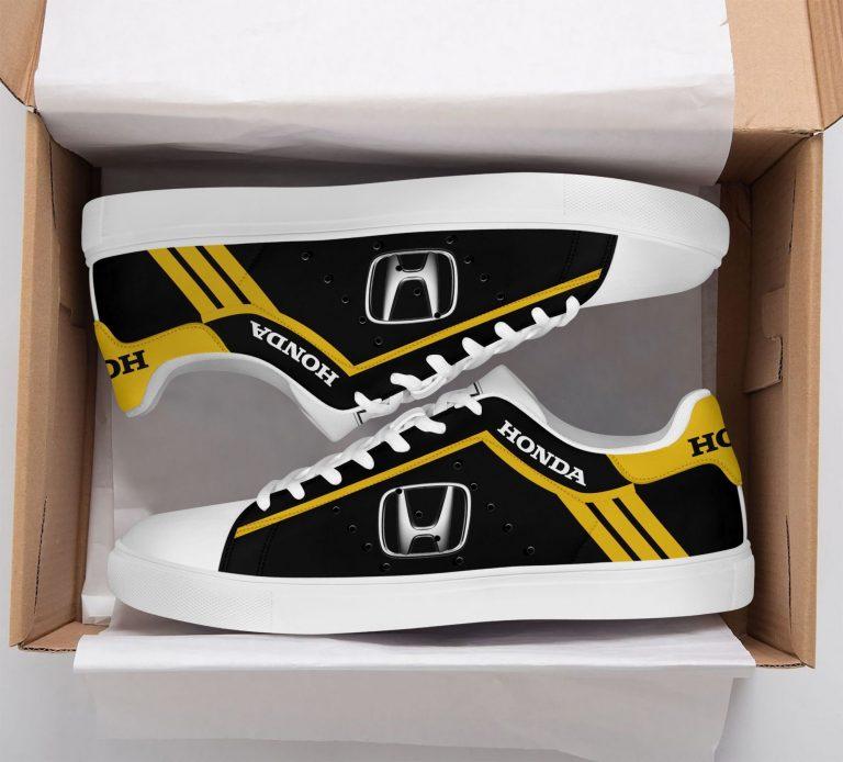 Honda Yellow Stan Smith Shoes