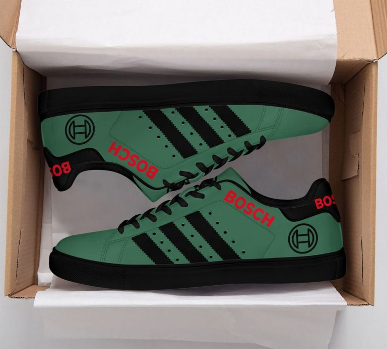 Bosch Green Stan Smith Shoes