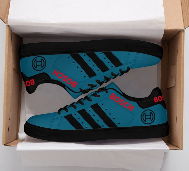 Bosch Blue Stan Smith Shoes