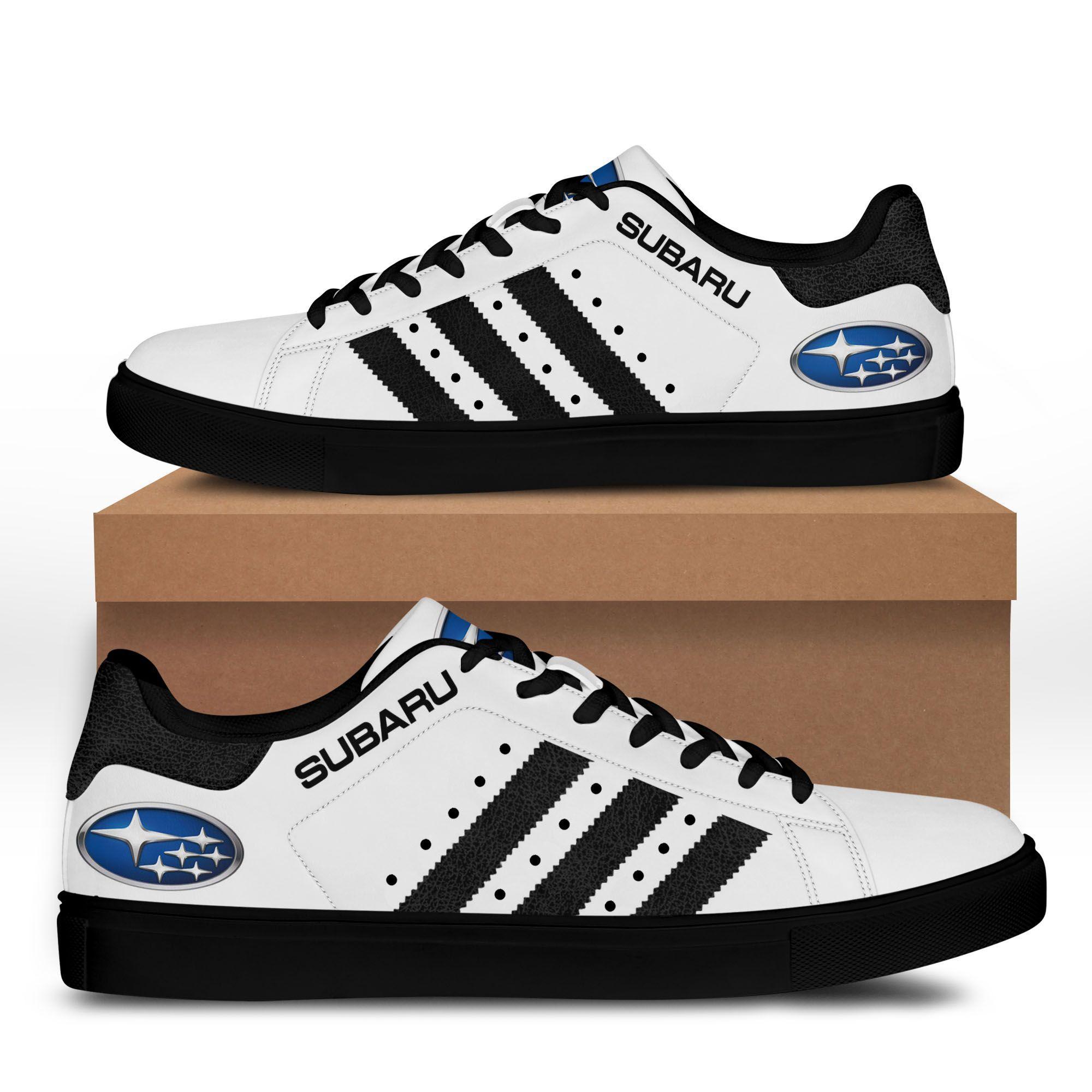 Subaru White Stan Smith Shoes