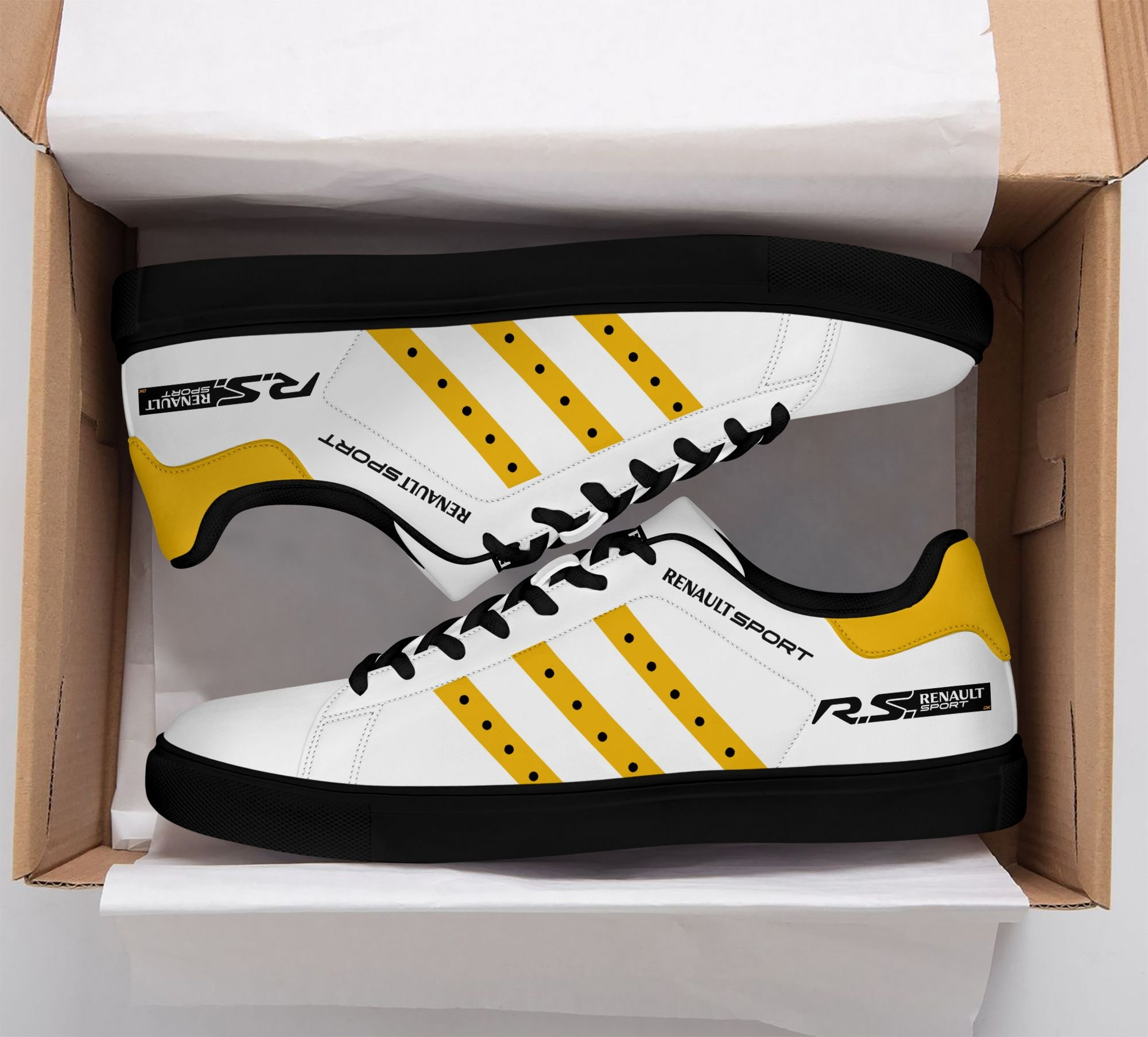 Renault Sport yellow Stan Smith Shoes