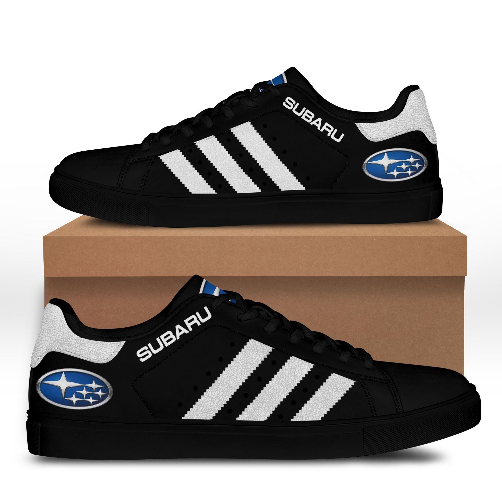 Subaru Black Stan Smith Shoes