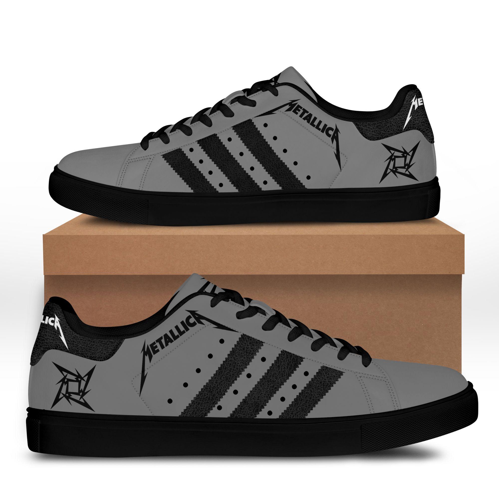 Metallica grey version Stan Smith Sneaker