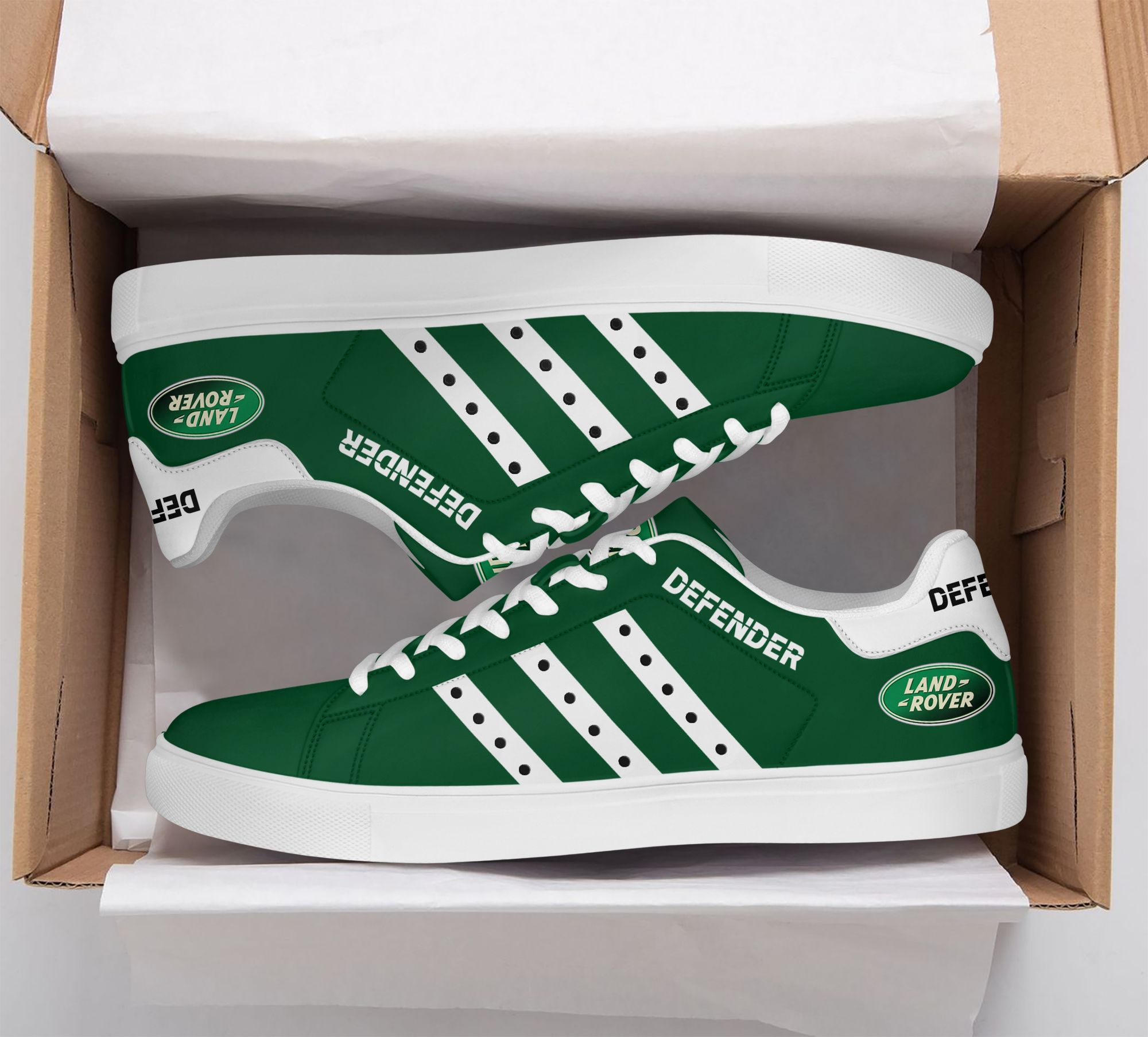 Defender Land Rover Green Edition Stan Smith Shoes