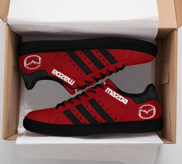 Mazda Red Stan Smith Shoes
