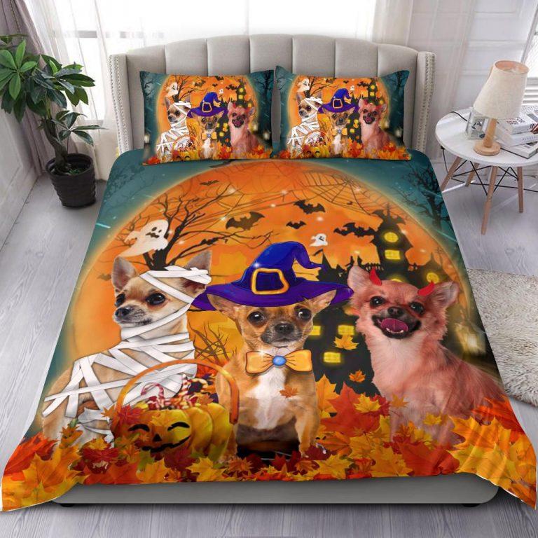 Chihuahua Costume Halloween Bedding Set