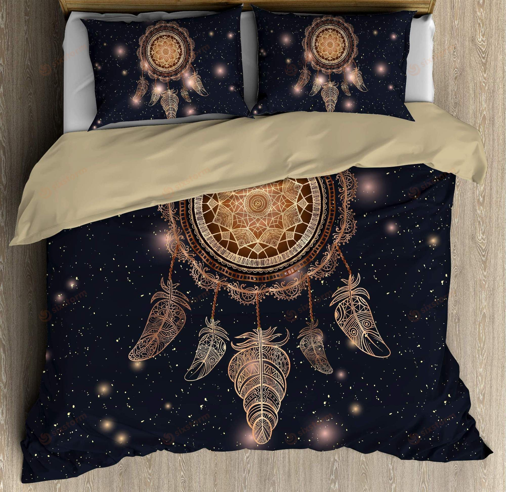 American Halloween Sweater and Bedding set