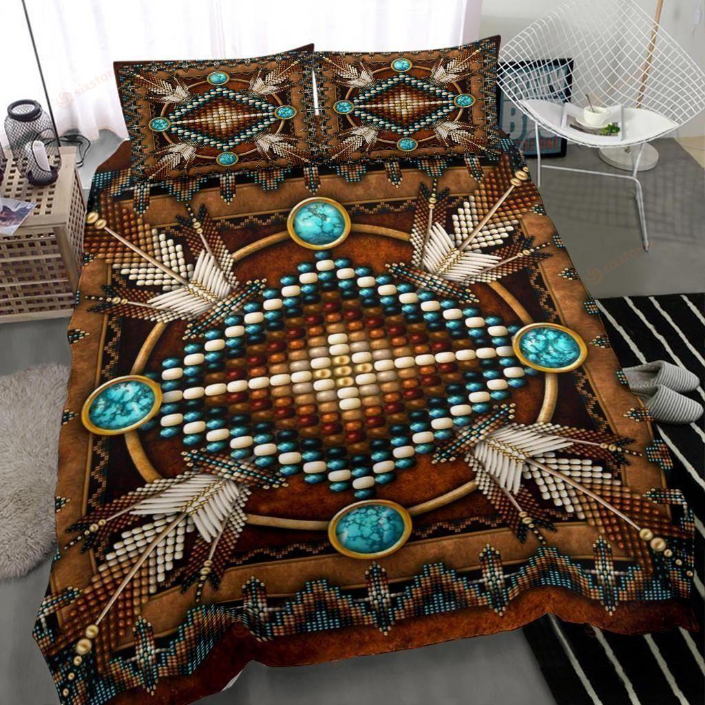 Native American War Pattern Symbol Bedding Sets