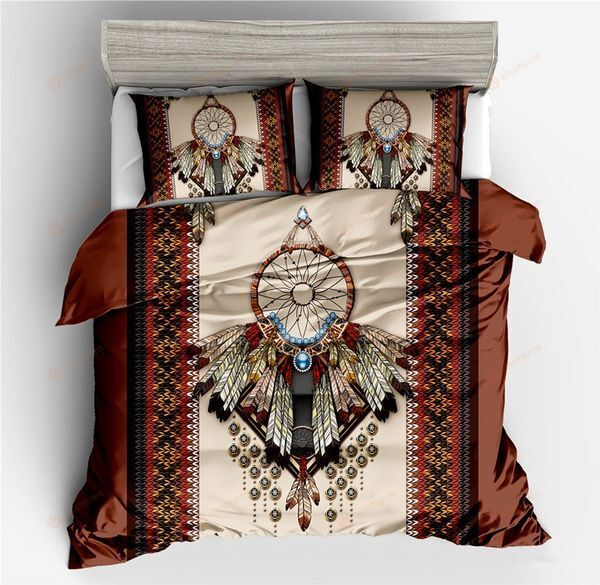 Native American Hope Feathers Symbol Bedding Sets