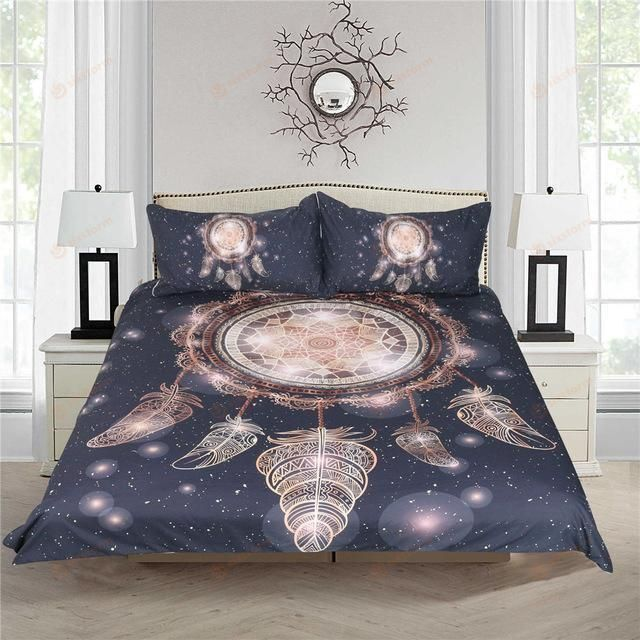 Native American Dreamcatcher in Night Sky Bedding Sets