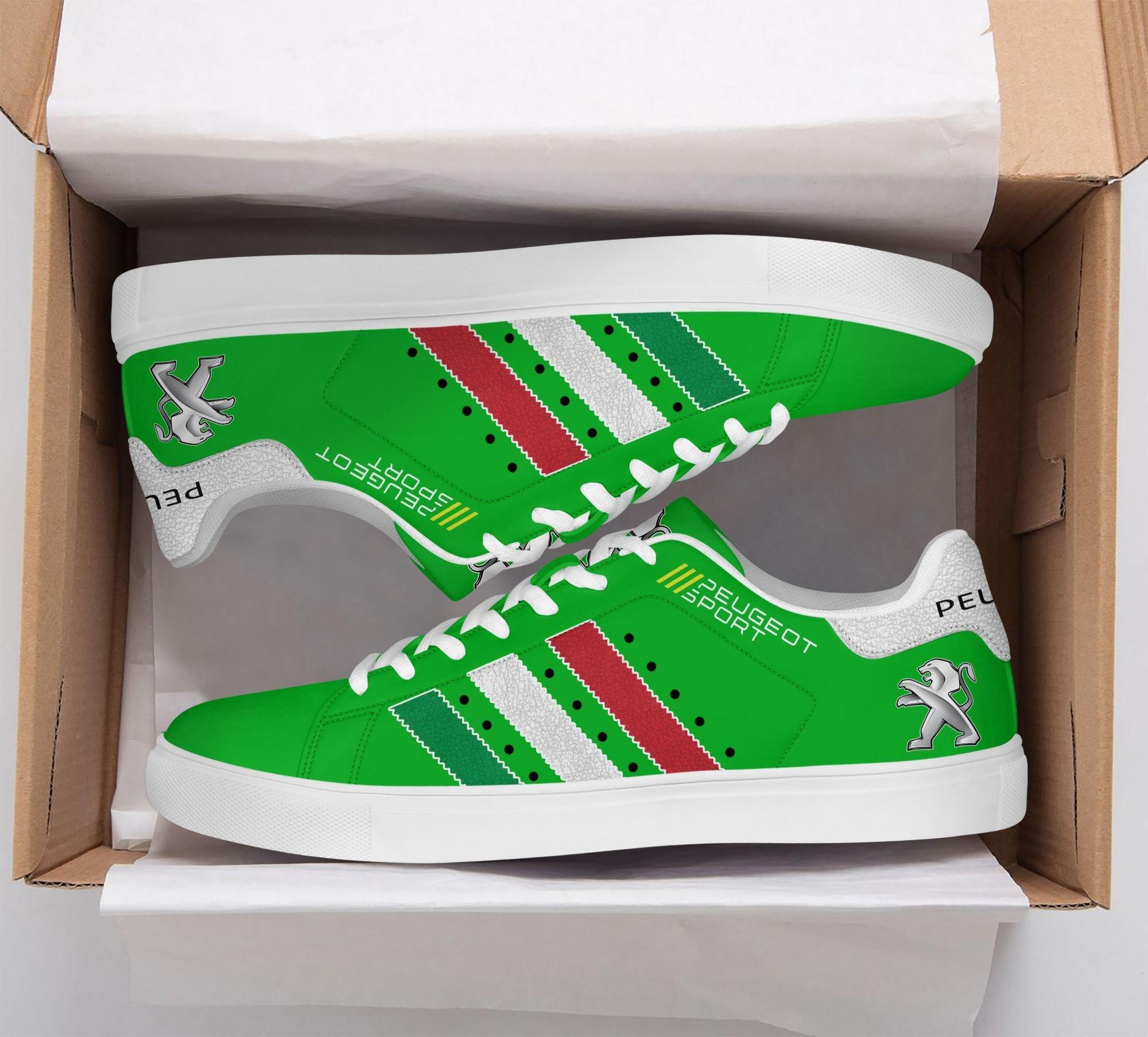 Peugeot Sport green Premium Stan Smith Shoes
