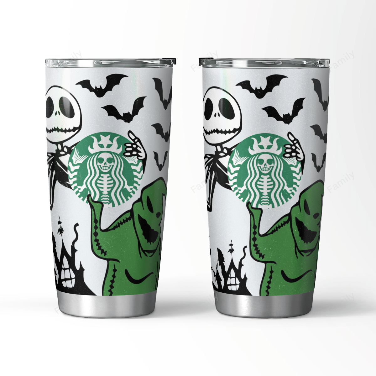 The Nightmare Halloween World Tumbler Starbuck