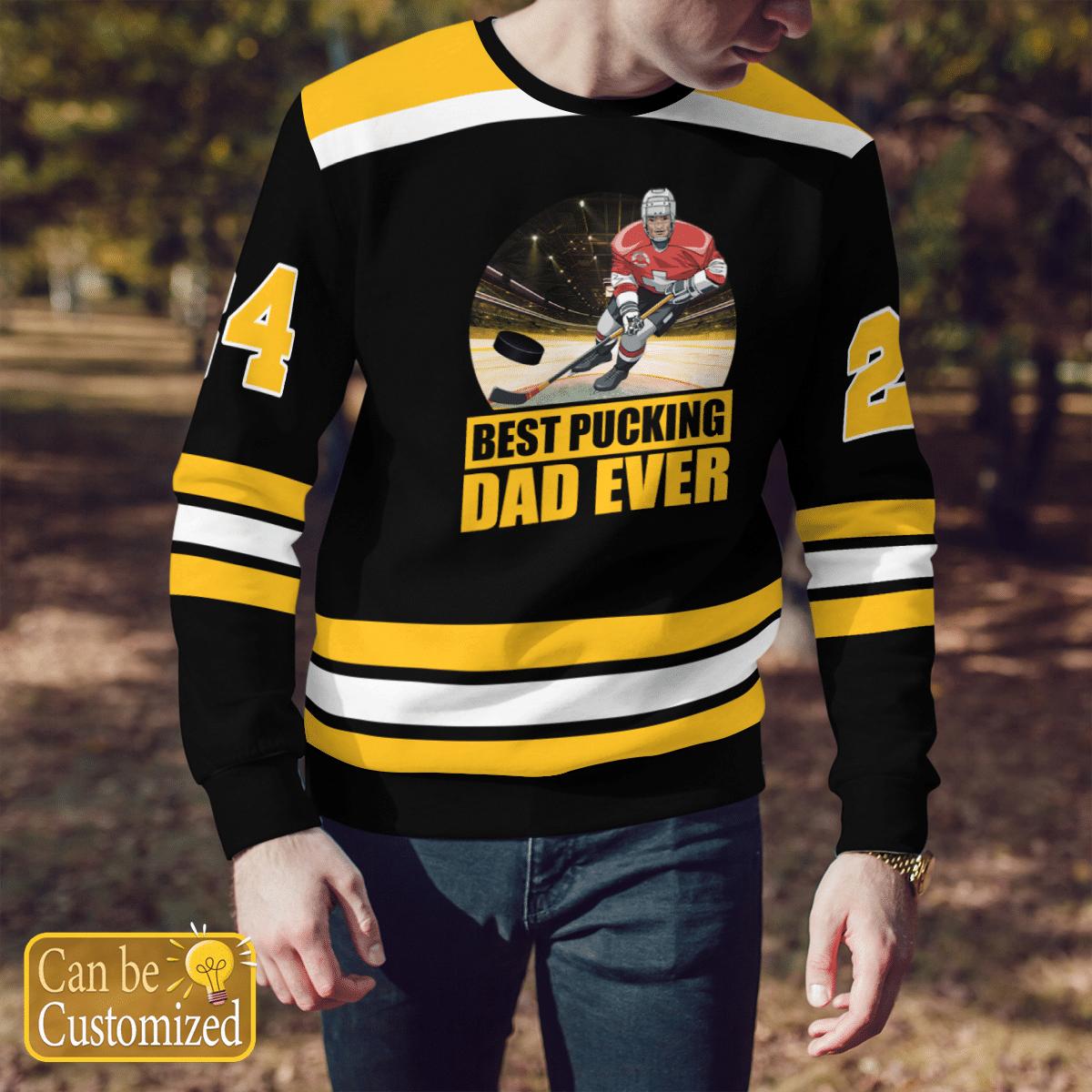 Best Pucking Dad Ever Sweater