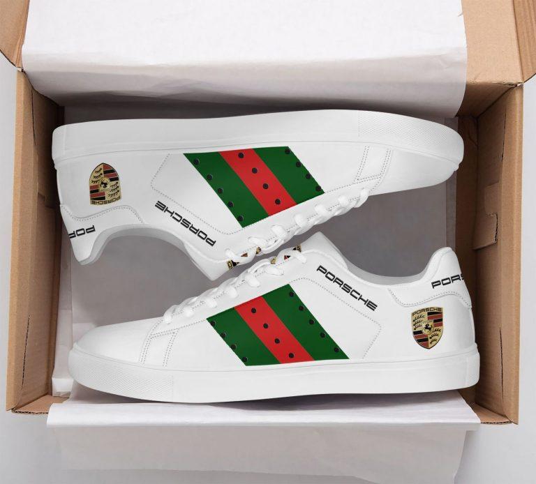 Porsche White Stan Smith Shoes