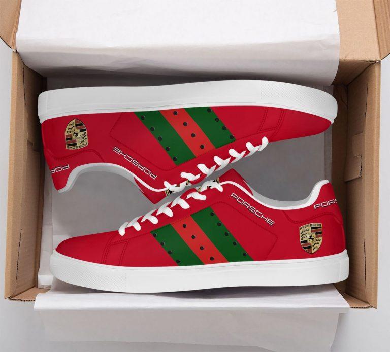 Porsche Red Stan Smith Shoes